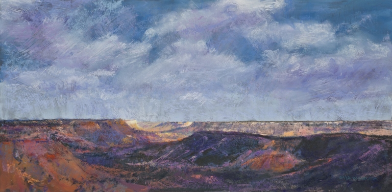 Palo Duro Canyon Shadows by artist Enid Wood