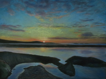 Sunrise (Small Point, Maine) by artist Timothy Woolsey