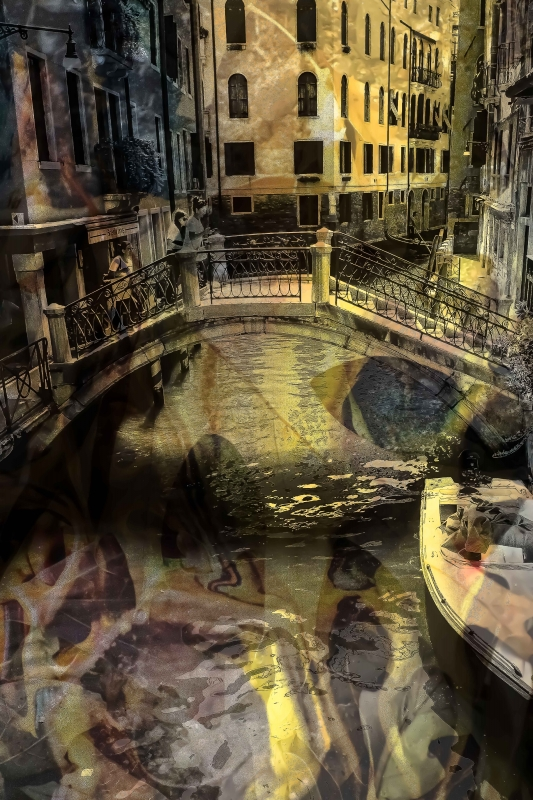 A Bridge in Venice by artist Michael Wright