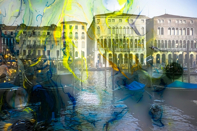 A Day in Venice by artist Michael Wright