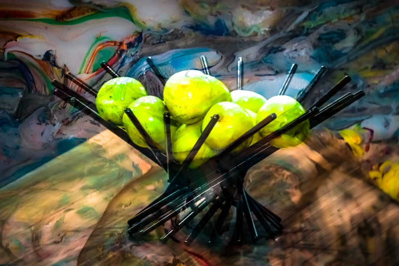 Apples by artist Michael Wright