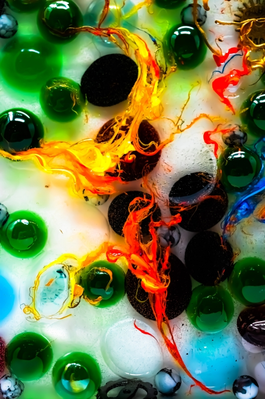 Colors at Play (1) by artist Michael Wright