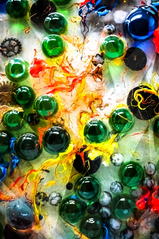 Colors at Play (3) by artist Michael Wright