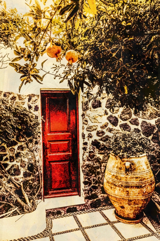 The Red Door by artist Michael Wright