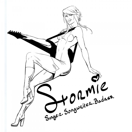 Stormie by artist Douglas Brown
