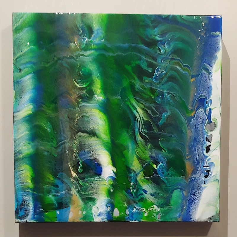 going with the flow I by artist lacy husmann