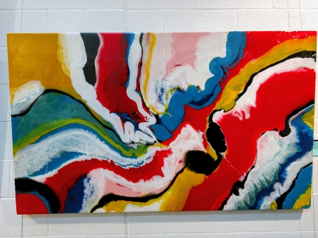 rojo river by artist lacy husmann