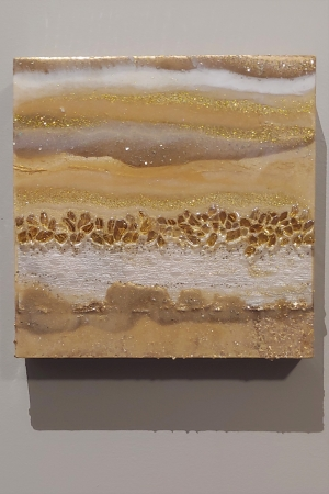 untitled gold by artist lacy husmann