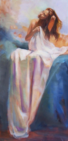 Draped by artist Eve Larson