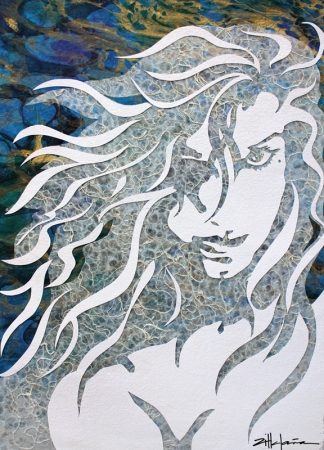 Torrent by artist Marcy Ann Villafana